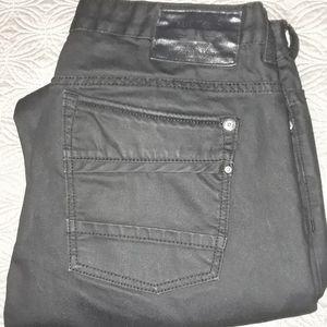 Buffalo Jeans Black w/ Front Pocket Zipper